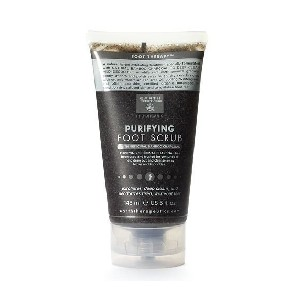 Earth Therapeutics Purifying Foot Scrub - Best Foot Lotion for Calluses: Natural Bamboo Charcoal Formulation Cream