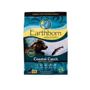 Earthborn Holistic Coastal Catch Grain-Free Natural Dry Dog Food - Best Dog Foods to Gain Weight: High-Quality Ingredients