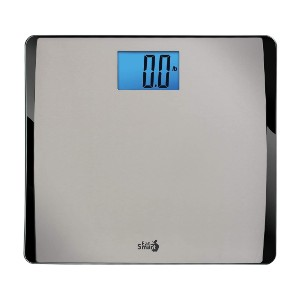 EatSmart Precision 550 Pound Extra-High Capacity - Best Bathroom Scale for Heavy Person: Simple and efficient