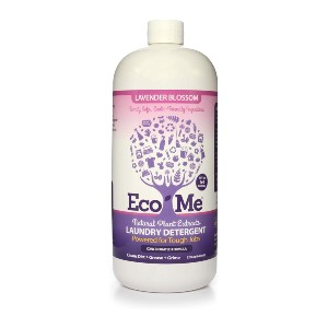 Eco-Me Natural Non-Toxic Concentrated Liquid Laundry Detergent - Best Laundry Detergents for Septic Systems: Natural Plant Extracts Detergent