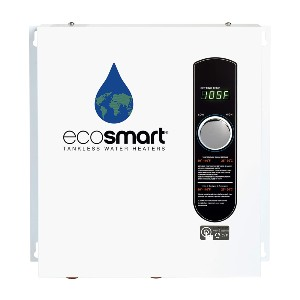 EcoSmart ECO 27 Electric Tankless Water Heater - Best Electric Tankless Water Heater for Whole Family: Water Heater with Digital Temperature Control
