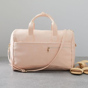 West Elm Ecotech Luggage - Vegan Leather Duffels - Best Duffel Bags for Women: 100% Vegan Leather