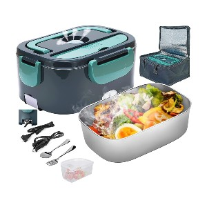 PMALLCITY Electric Lunch Box - Best Lunch Box to Keep Food Hot: Safe Material and Easy To Clean