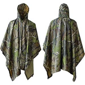 ElifeAcc Multifunctional Rain Poncho - Best Raincoats for Hiking: Multi-purpose and scratch-resistant