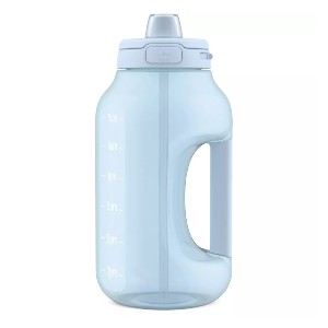 Ello Hydra 64oz Half Gallon Jug with Straw  - Best Half Gallon Insulated Water Jugs: Jug with Time Marker