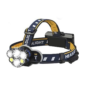 Elmchee 18650  - Best Headlamps for Hiking: Rechargeable and Long Lasting