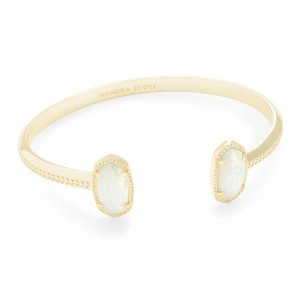 KENDRA SCOTT Elton Gold Cuff Bracelet - Best Jewelry for Mother's Day: Stunning bursts of color