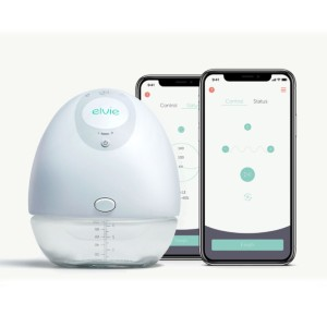Elvie Pump - Best Breast Pump Portable: All-in-One Design with No External Cords or Tubes