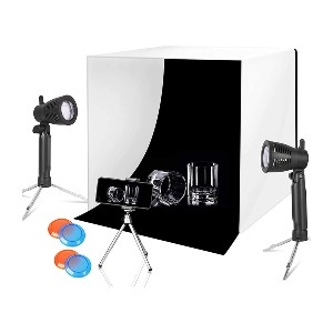 Emart Lighting Photography Studio Box Kit - Best Lightbox for Product Photography: You'll get four color gels!