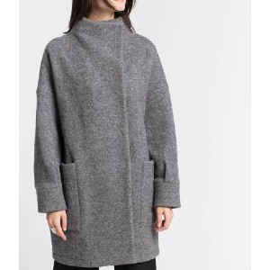 Marcellamoda Emerson Wool Coat - Best Coats for Cold Weather: Handcrafted in Europe