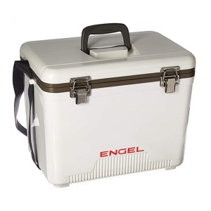 Engel UC19 Ice/Dry Box - Best Lunch Cooler for Construction Workers: Lightweight with high quality