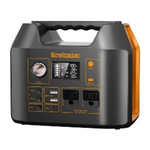 EnginStar Portable Power Station - Best Portable Power Station for CPAP: Runs your CPAP up to 4 nights
