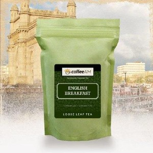 CoffeeAM English Breakfast Tea - Best Tea to Drink in the Morning: Highly Admired All Over the World