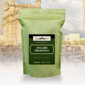 CoffeeAM English Breakfast Tea - Best Tea for Anxiety: Highly Admired All Over the World