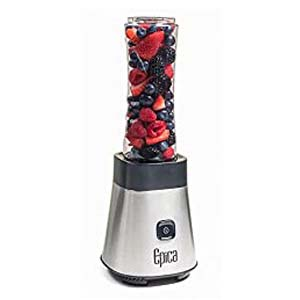Epica Personal Blender with Take-Along Bottle - Best Portable Blender: Sleek design and easy to clean
