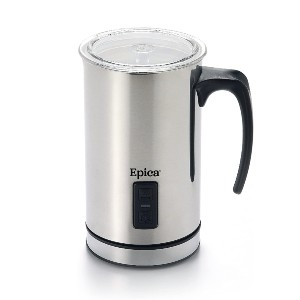 Epica Automatic Electric Milk Frother and Heater Carafe - Best Milk Frother for a Latte: Detachable Carafe