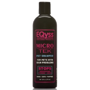 Eqyss Grooming Products Micro-Tek Pet Shampoo - Best Dog Shampoo for Itchy Skin: Stop Itching with One Bath