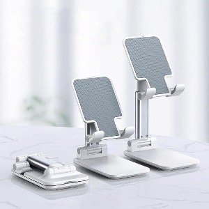 MODERN BEYOND Ergonomic Adjustable Cell Phone Stand - Best Phone Stand for Video Recording: Small Size and Convenient to Carry