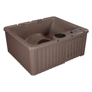 Essential Hot Tubs 14-Jet Newport Hot Tub - Best Three-Person Hot Tubs: Hot Tub with Two Modes