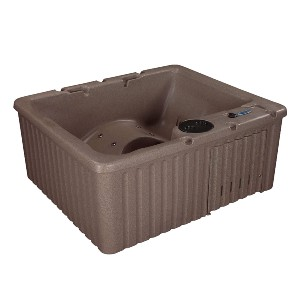 Essential Hot Tubs 14-Jet Newport Hot Tub - Best Four-Person Hot Tubs: Hot Tub with Contour-Style Seating