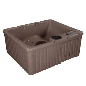 Essential Hot Tubs 14-Jet Newport Hot Tub - Best Hot Tub for Cold Climates: Hot Tub with Three Therapy Seats