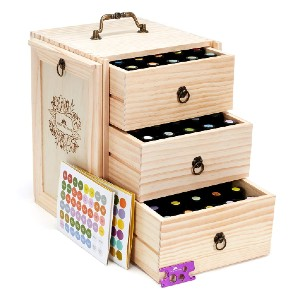 Tress Wellness Essential Oil Storage  - Best Storage for Essential Oils: Best large capacity