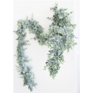 Afloral Eucalyptus Garland  - Best Artificial Plants for Outdoors: Perfect to Accent Chairs