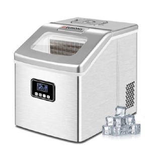 Euhomy Ice Maker Machine Countertop - Best Portable Ice Maker: Ice Maker with Digital Button