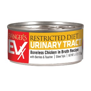 Evanger's EVx Restricted: Urinary Tract - Best Food for Cat Urinary Health: Food for All Stages Cat