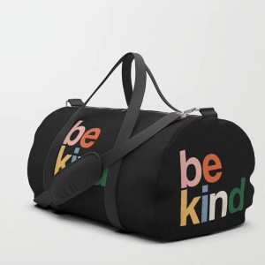 Eveline be kind colors rainbow Duffle Bag - Best Duffel Bags for Gym: Durable