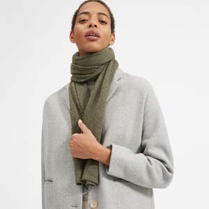 Everlane The Cashmere Scarf - Best Scarves for Winter: Stylish scarf for a stylish woman