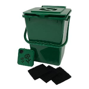Exaco Trading Co. ECO-2000 Plus - Best Indoor Compost Bins: Featuring odor-neutralizing filters