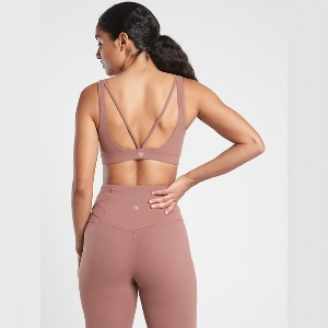 Athleta Exhale Bra in Powervita™ A-C - Best Activewear for Women: 50+ UPF rating