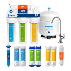 Express Water RO5DX - Best Water Filter Reverse Osmosis: Leak detection technology