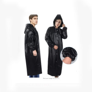 Exptolii Rain Poncho for Adults - Best Raincoats for College Students: Eco-friendly and Portable