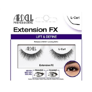 ARDELL Extension FX Lift & Define L-Curl Lash - Best Lashes for Monolids: Doll Shape to Lift Eyes