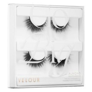 Velour Eyeshape Lash Kit - Best Lashes for Monolids: Natural and Three-Dimensional
