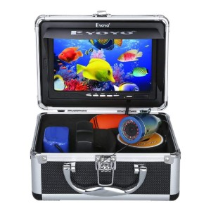 Eyoyo Portable 7 inch LCD Monitor Fish Finder - Best Fish Finders Under $200: Underwater Video Fishing Camera