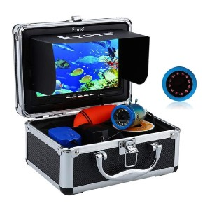 Eyoyo Portable 7 inch LCD Monitor Fish Finder - Best Fish Finders for Ice Fishing: Underwater Video Fishing Camera