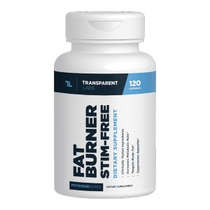 Transparent Labs FAT BURNER STIM-FREE - Best Prebiotics Supplements for Weight Loss: Zero Fillers or Harmful Additives