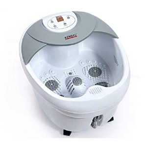 Kendal Large Foot Spa - Best Foot Spa to Use with Epsom Salt: Detachable herbaceous diffuser