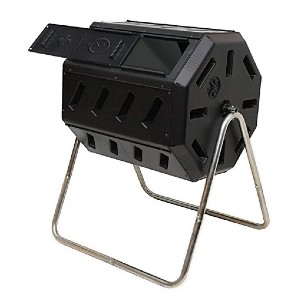 FCMP Outdoor IM4000 Tumbling Composter - Best Outdoor Compost Bins: Easy mixing!