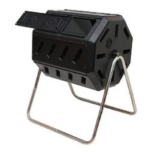 FCMP Outdoor IM4000 Tumbling Composter - Best Compost Bin for Beginners: Easy mixing!