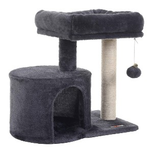 FEANDREA Cat Tree with Sisal-Covered Scratching Posts - Best Cat Tree for Senior Cats: Small Cat Tree