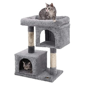 FEANDREA  Cat Tree for Large Cats - Best Cat Tree for Multiple Cats: Safe Cat Tree