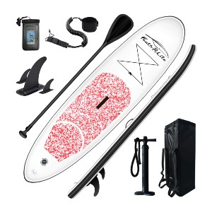 Feath-R-Lite Inflatable Stand Up Paddle Board  - Best Paddleboard for Yoga: Best for budget