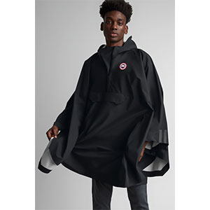 CANADA GOOSE FIELD PONCHO  - Best Raincoats Under 1000: Fully Seam-Sealed For High Protectiveness