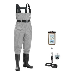 FISHINGSIR Fishing Chest Waders - Best Waders for Duck Hunting: The lowest price tag