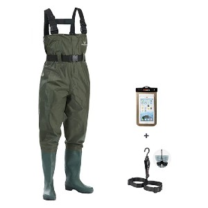 FISHINGSIR Fishing Chest Waders - Best Waders for Fishing: Super affordable