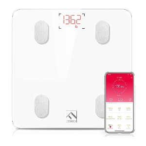 FITINDEX Bluetooth Body Fat Scale - Best Weighing Scale for Home Use: Unlimited users